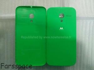 Moto X Green