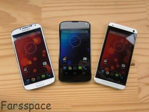 Samsung Galaxy S4 - HtC ONE